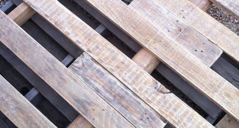 Diy Wooden Pallet Deck Under Home Design
