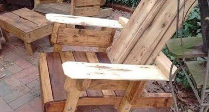 Diy Wooden Pallets Adirondack Chair Ideas Designs