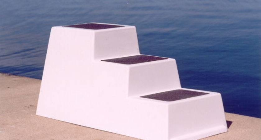 Dock Builders Supply Fiberglass Boarding Steps
