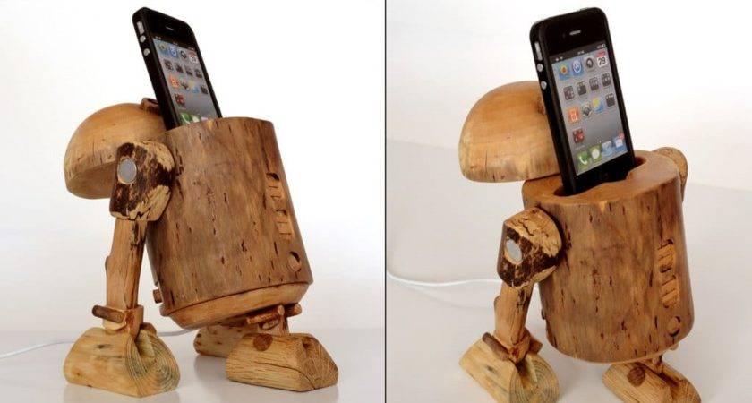 Dock Jedi Way Wooden Iphone