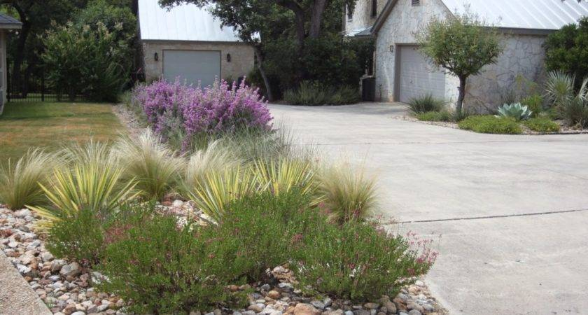 Doit Yourself Landscaping Ideas End Driveway