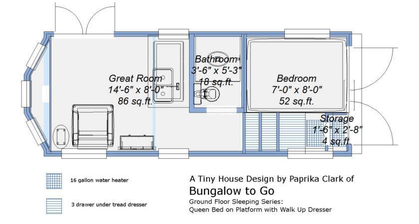Donn Tiny House Plans Trailer