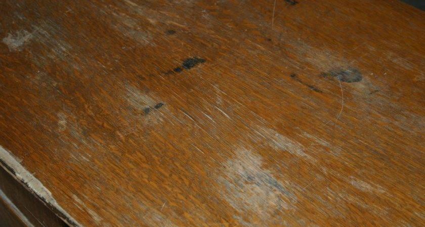 Doodle Bug Distressed Antique Dresser Paint Stain