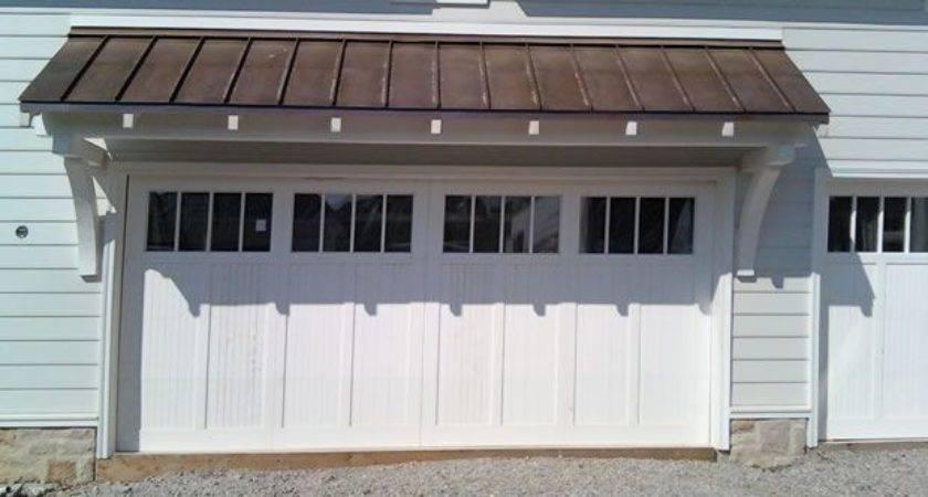 Door Overhang Carriage House Pinterest Doors