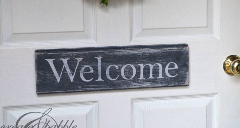 Door Welcome Character Human Opening