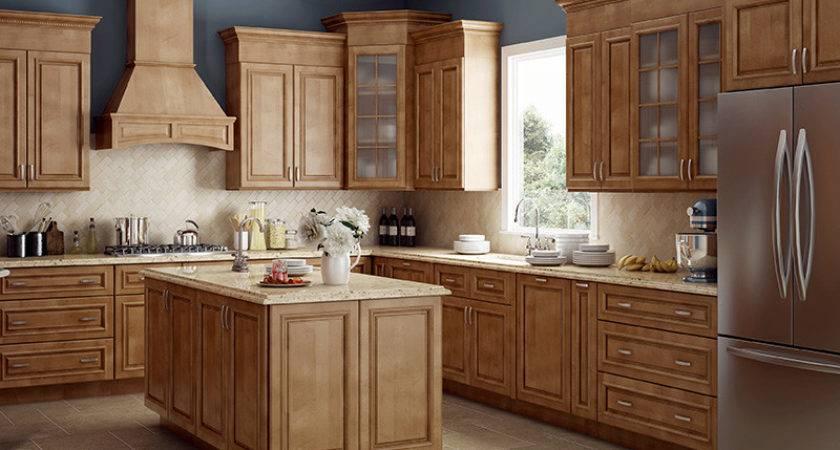 Dorchester Cinnamon All Wood Cabinets