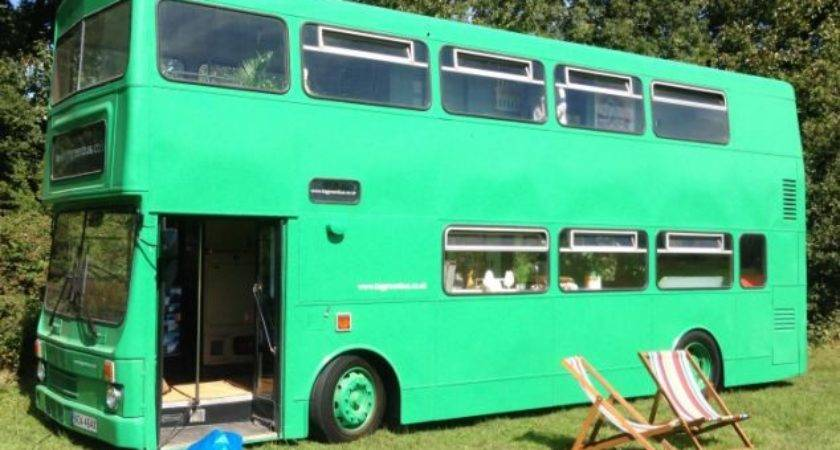 Double Decker Transformed Into Stunning Motorhome Think