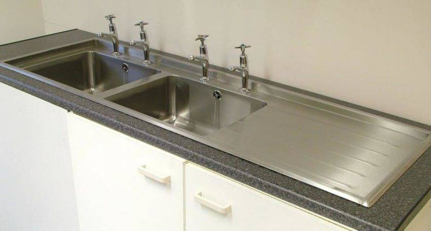 Double Kitchen Sink Water Coming Back