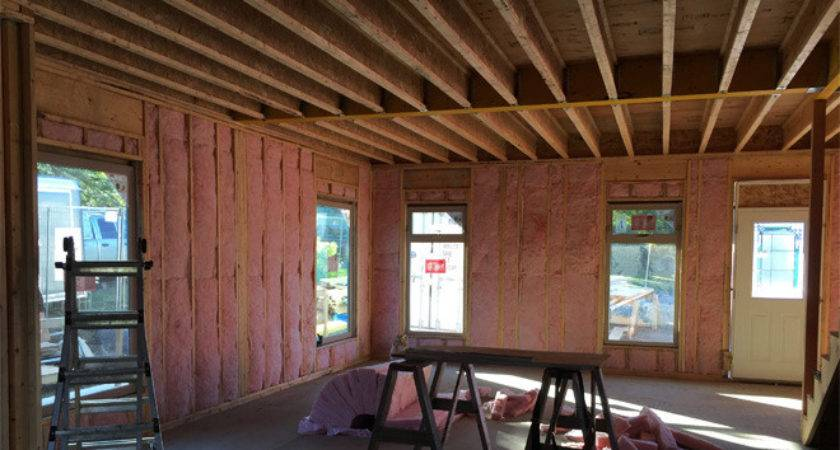 Double Wall Construction Helps Save Heating