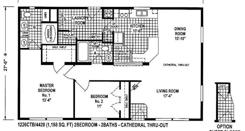 Double Wide Floor Plans Bedroom