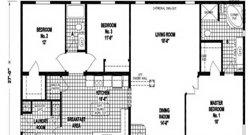 Double Wide Floor Plans Houses Flooring Ideas