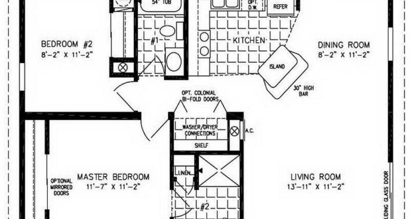 Double Wide Mobile Home Floor Plans Homes Photos