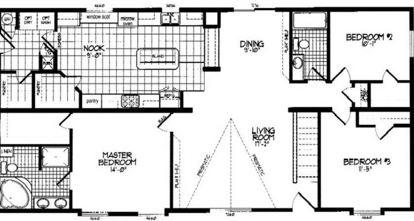 Double Wide Mobile Home Floor Plans Homes