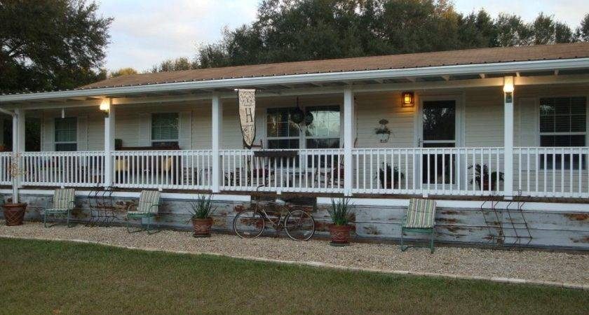 Double Wide Mobile Home Front Porches Best