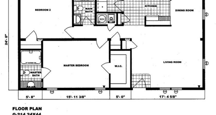 Double Wide Mobile Homes Factory Expo Home Center Floor
