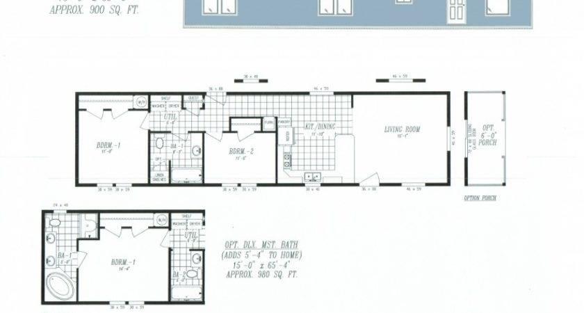 Double Wide Mobile Homes Floor