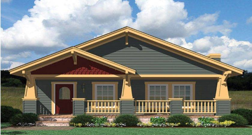 Dream Bedrooms Small Craftsman House Plans