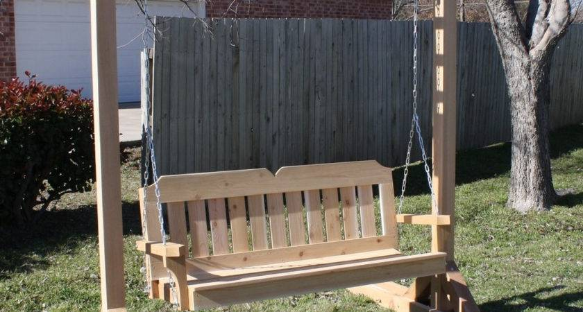 Dream Standing Porch Swing Bistrodre