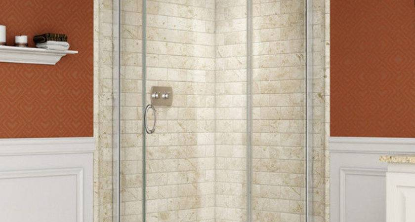 Dreamline Solo Corner Shower Round Sliding