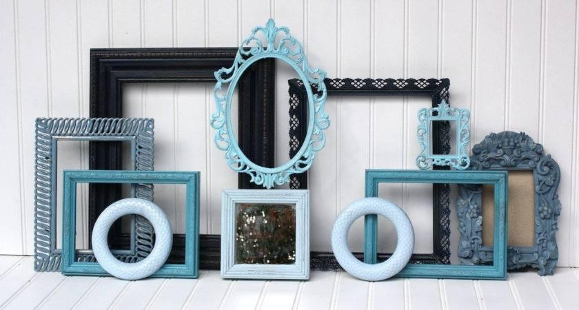Dreamy Blues Wall Frame Set
