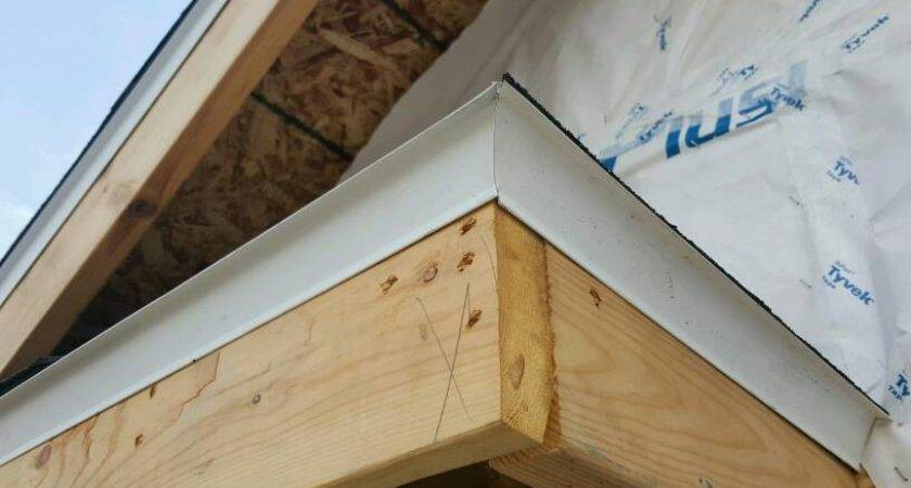 Drip Edge Corner Installation Roofing