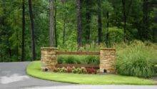 Driveway Entrance Landscaping Ideas