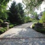 Driveway Entrance Short Hill Block Stones