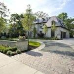 Driveway Landscape Design Decoration