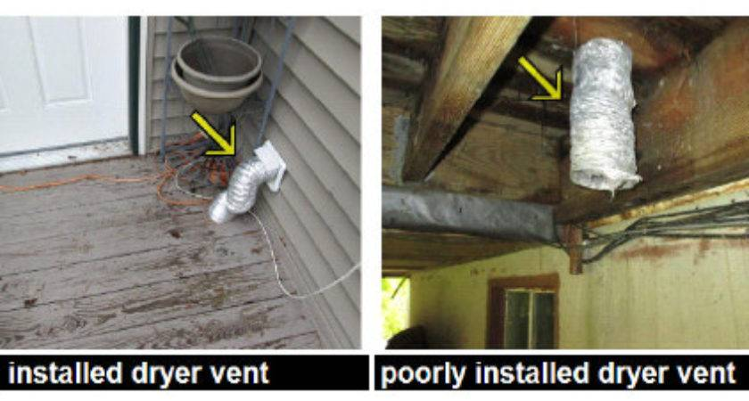 Dryer Vent Under House