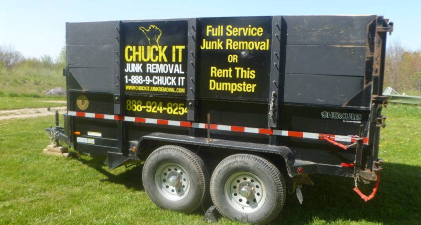Dumpster Rental Cubic Yard Trailer Ann Arbor Michigan