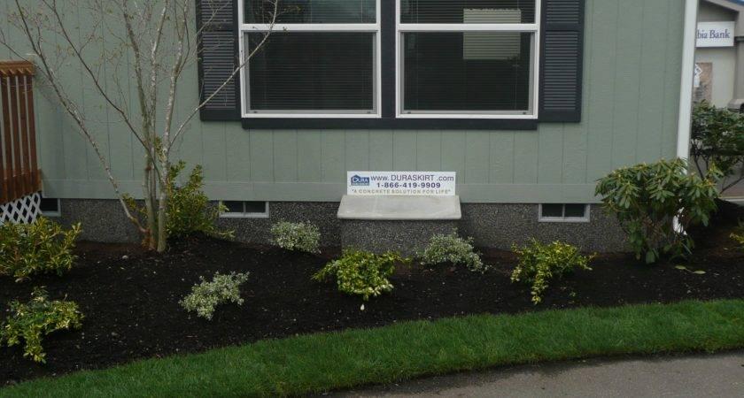 Duraskirt Diy Mobile Home Skirting Concrete