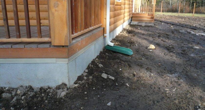 Duraskirt Solves Skirting Problems Log Cabins