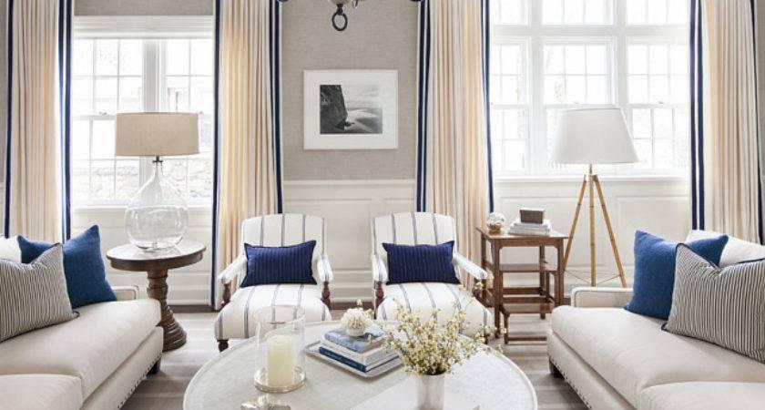 East Coast House Blue White Coastal Interiors