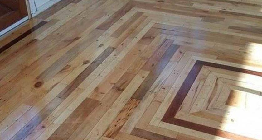 Easy Build Wood Pallet Flooring Cost Diy Design