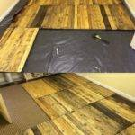 Easy Build Wood Pallet Flooring Cost Diy Design