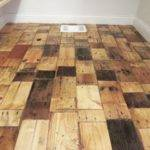 Easy Diy Pallet Wood Floor Redo Step Tip Junkie