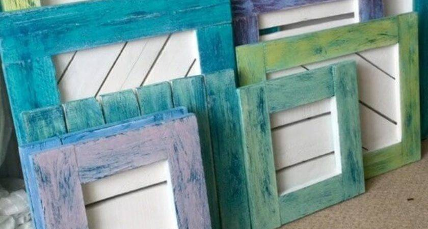 Easy Diy Wooden Pallet Frames Projects Pallets Designs