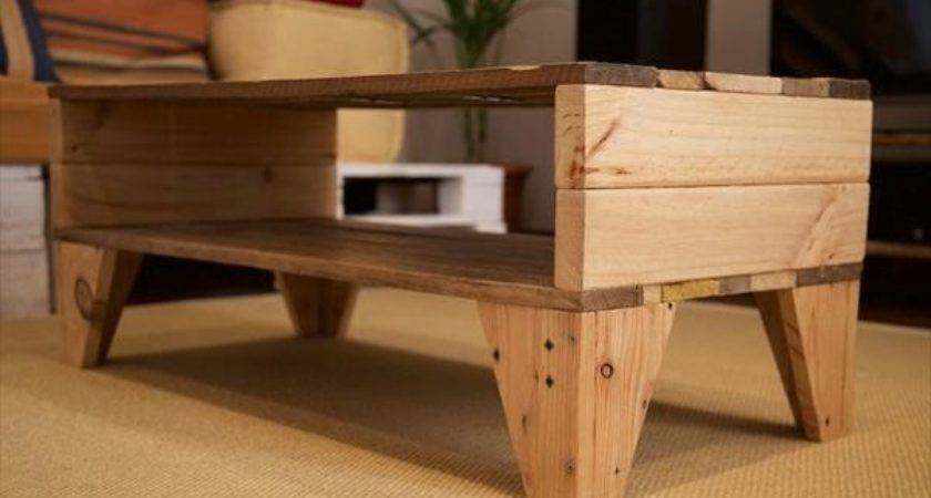 Easy Handmade Pallet Coffee Table Wooden Furniture