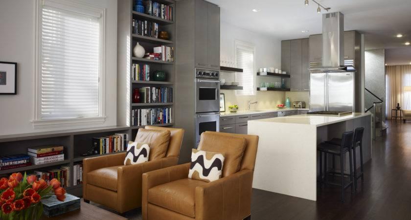 Easy Kitchen Living Room Together Home Decorating