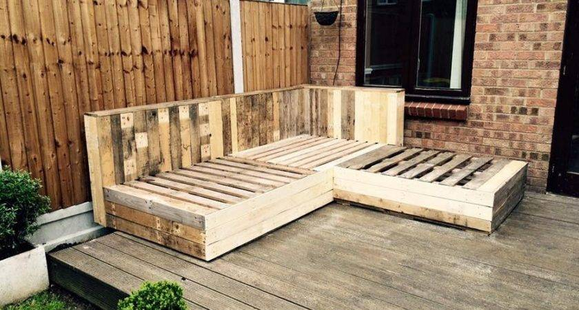 Easy Pallet Furniture Ideas