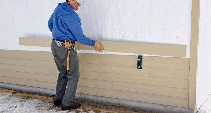 Easy Steps Install Vinyl Siding