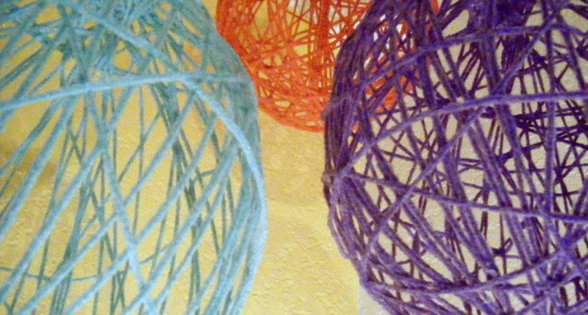 Eat Live Play Diy Yarn Globes
