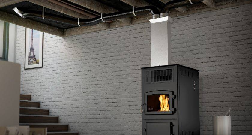 Eco Combo Pellet Stoves Drolet