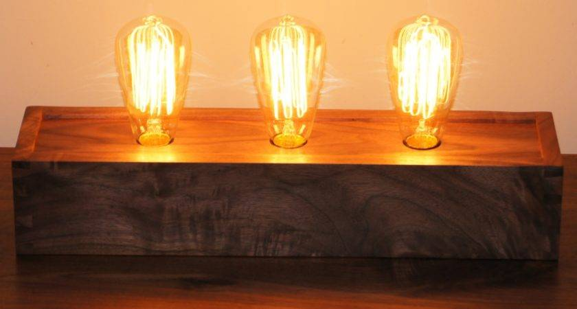 Edison Table Lamp Claremont Designs
