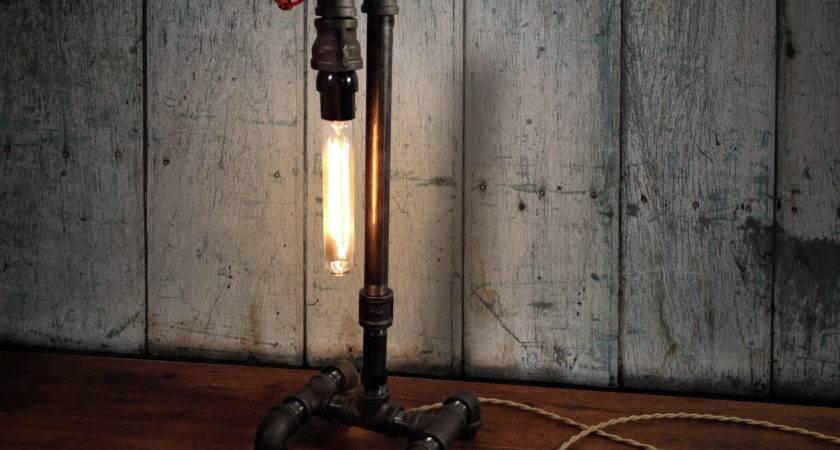 Edison Table Lamp Industrial Lighting Steampunk Decor