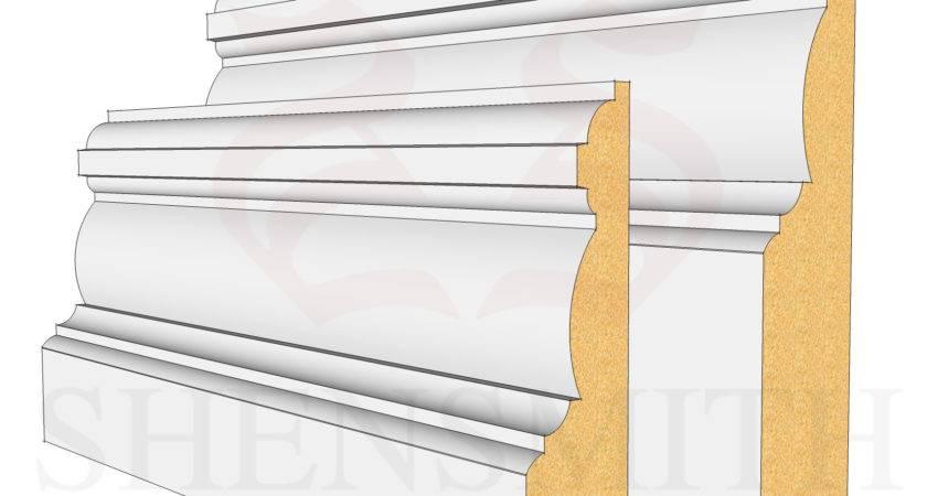Edwardian Mdf Skirting Board Skirtingboards