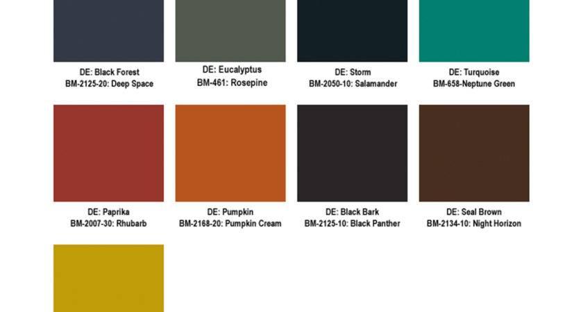 Eichler Accent Colors Mid Century Modern Mailbox