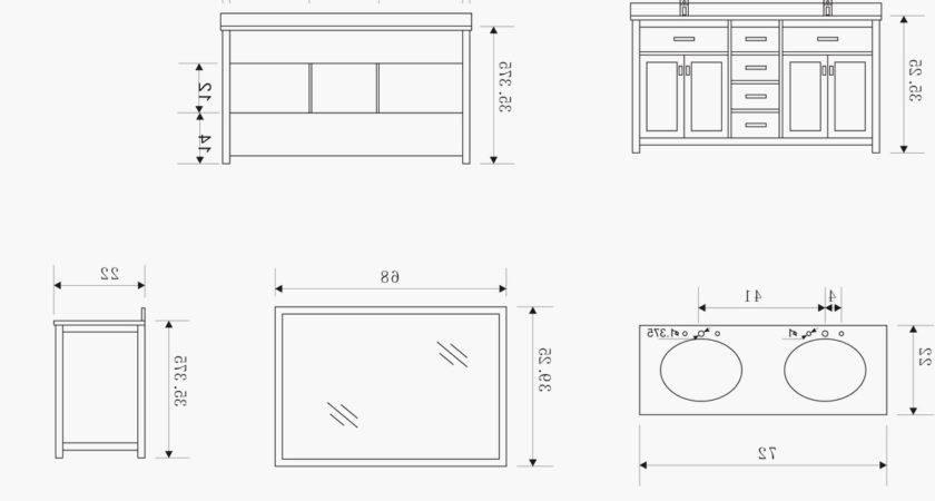 Elegant Average Kitchen Sink Width Design