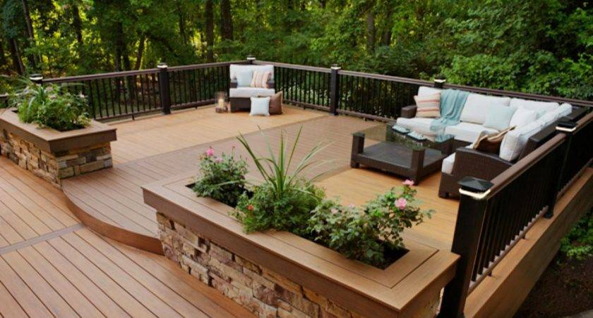 Elegant Deck Ideas High Cool