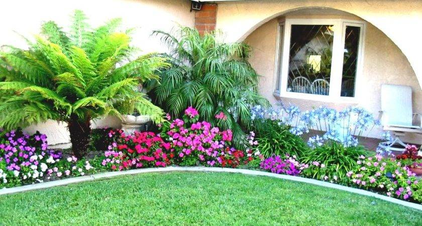 Elegant Landscaping Ideas Front Ranch Style House